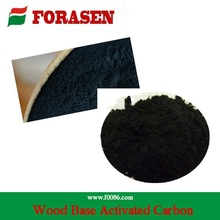 1000 iodine black wooden activated carbon powder