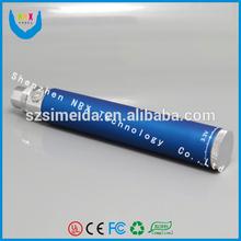 2014 ego twist 1300mah vaporizer pen ego twist battery with dofferent color