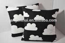 Scandinavian Swedish Farg & Form fabric clouds Kids pillow