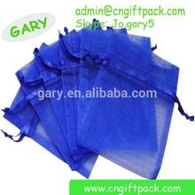 popular organza bag/non woven drawstring shoe bag/organza bags