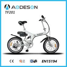 2015 new design folding electric bike with bafang 8fun motor city e bike for sale, ce en15194 approval