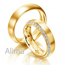 AGR0037-Y wholesale price 14K solid yellow gold wedding ring