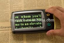 Winmax/mustech baja visión lupa digital portátil para la edad