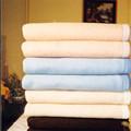 Guangzhou malha 100% cashmere walmart grosso de lã de cobertor do lance