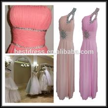 2015 New styles prom dress Wholesale checkout Vintage classy swing evening dress chiffon bridesmaid maxi dress plus size