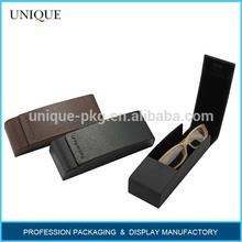 China Factory Most Popular Handmade Aluminium Eyeglasses Case Personalized Glasses Case High Quality Leather Eyeglass Case
