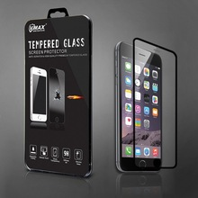 New coming!100% fit for iphone 6/6plus full cover tempered glass screen protector welcome oem/odm