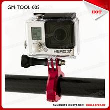 China wholesale Gopros Aluminum 31.8mm bicycle camera mount