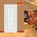 التصميم الكلاسيكي الناعم الأبيض الأبواب الداخلية
