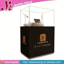 wooden display cosmetic, MX6951 shadow box display case