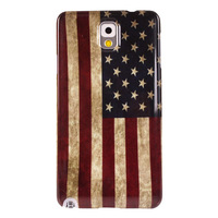 US Flag PC Cover Case For Samsung Galaxy Note 3 Plastic Hard Case N9000