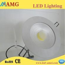 China led light round cob downlight high lightness 6 inch led downlight
