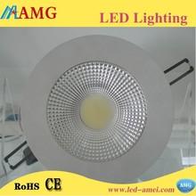 China led light round cob downlight high lightness 10 inch led downlight