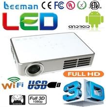 3d shutter mini dlp projector proyector home theater