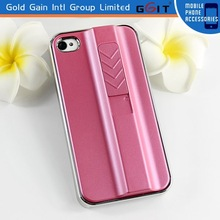 Rose Color Lighter Shape Case for Apple for iPhone 4G with USB Data Cable, for iPhone 4G Case