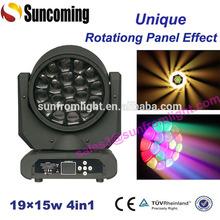 Unique Big Eye Rotating Panel Kaleidoscope Effect High Power LED Stage Lighting
