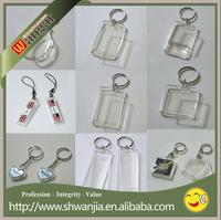 Custom keychain keychain led flashlight wholesale and high quality keychain making supplies