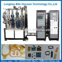 Oro/rosegold/nero/colore blu del vuoto pvd attrezzature per metallo, di ceramica, vetro, mosaico(fare metallizzato e prodotto colorato)