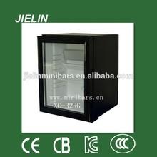 32L small absorption type hotel bedroom used portable mini fridge