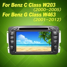 For Mercedes Benz DVD C Class W203(2000-2005)