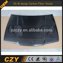 92-98 4D M design Carbon Fiber Hoods for BMW E36
