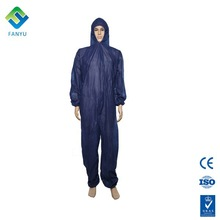 high quality disposable nonwoven overall work safety