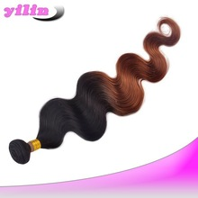 Made In China Wholesale Body Wave Mix Color Weave