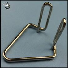 Custom nickel spring steel clips
