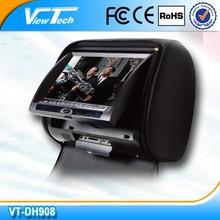 9 inch car dvd headrest with SD/USB/MMC/IR/FM/Game function