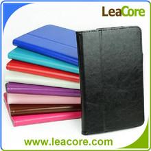 """Slim Book Leather Folio Stand Case Cover for Dell 8"""""""
