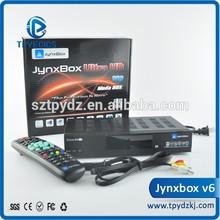 Original jynxbox v6 globo orton 4100c digital satellite receiver dvb
