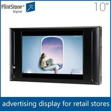 Flintstone 10 inch lcd tft lcd display indoor lcd advertising screen