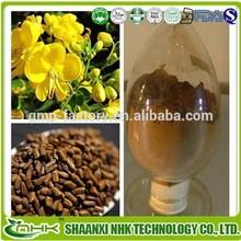 Gmp kosher& fabricante de suministro de semillas de cassia extracto en polvo
