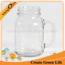 New Design 20oz Glass Beer Drinking Mason Jar Promotion