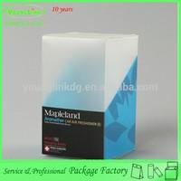 Personalized foldable PVC plastic air freshener box