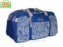 designer custom durable waterproof travel gym sports duffle bag