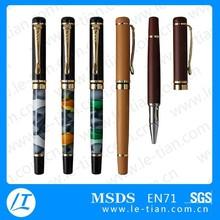 LT-W033 2015 hot selling OEM promotional metal gel ink pen