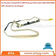 Grade-A+ Original Webcam With Cable For Pavilion 15.6inch DV6-2000 Web Camera 21QCMMA00Z0