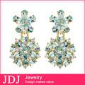 venta al por mayor nueva llegada de joyería hecha a mano de la moda pendientes de oro nuevo modelo 2013
