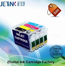 Refillable ink cartridge T2001 T2002 T2003 T2004 for Epson XP- 100 / WF-2540