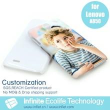 Handmade custom cute and lovely mobile phone case cover for Lenovo A850