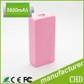 1 año de garantía de rohs cargador de batería de bolsillo banco de energía móvil 4500 mah 5200 mah 5600 mah