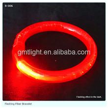 cheap new idea 8 wristband flexible led bracelet