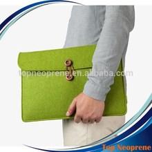 Multifunction Felt Laptop sleeve Portable Bags Notebook Ultrabook Netbook Case Green