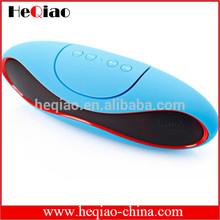 2014 hotsale olive portable wireless mini bluetooth speaker rugby shape