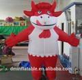 2014 heißer verkauf aufblasbare kostümen zu fuß maskottchen