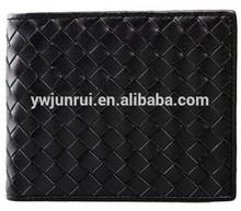 Black unisex woven square new arrival designal purse bags