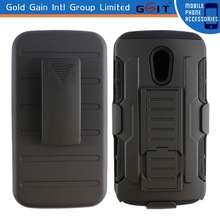 Updated Holster Combo Case for Motorola G2 with Kickstand