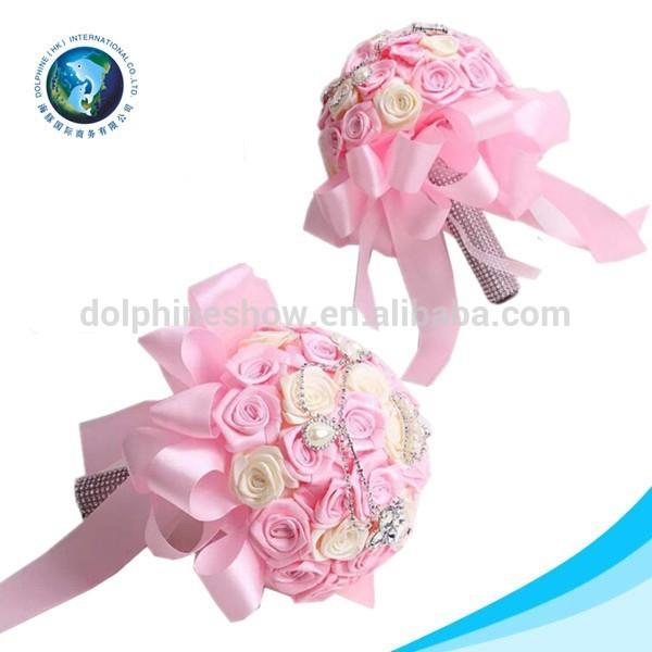 Valentine 39 Day Beautiful Fake Flower Wedding Bouquet Buy Fake Flower