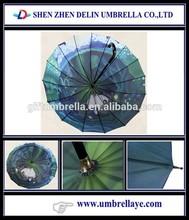 All nice umbrella package ,umbrella stretcher, full color umbrella printed